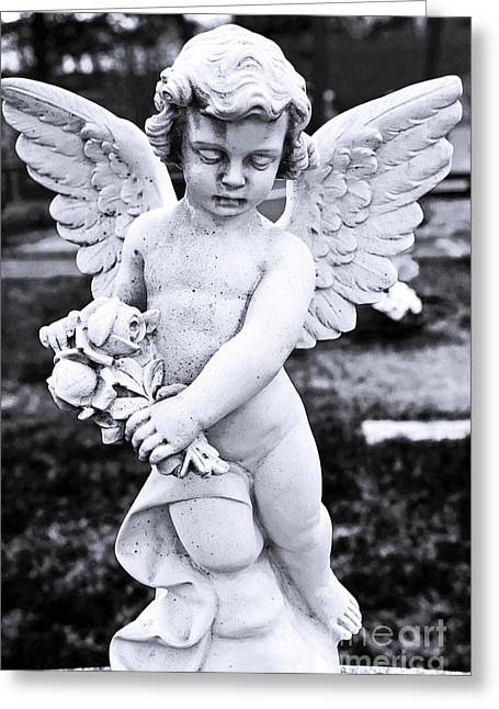 Angel Wings Greeting Card by John Rizzuto