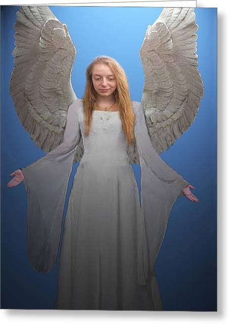 Angelic Angel Greeting Card