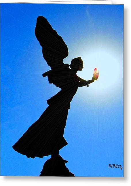 Greeting Card featuring the photograph Angelic by Patrick Witz