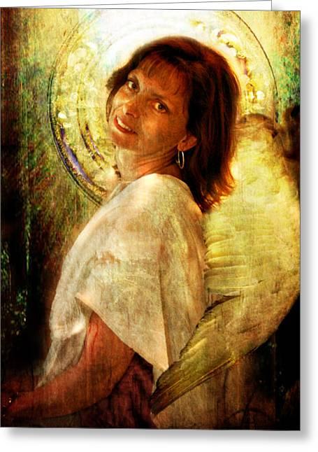 Angelic Repose  Greeting Card