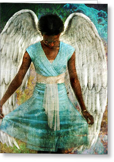 Angelic Thanks Greeting Card