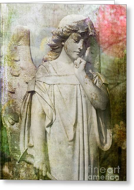 Angelic Thoughts Greeting Card