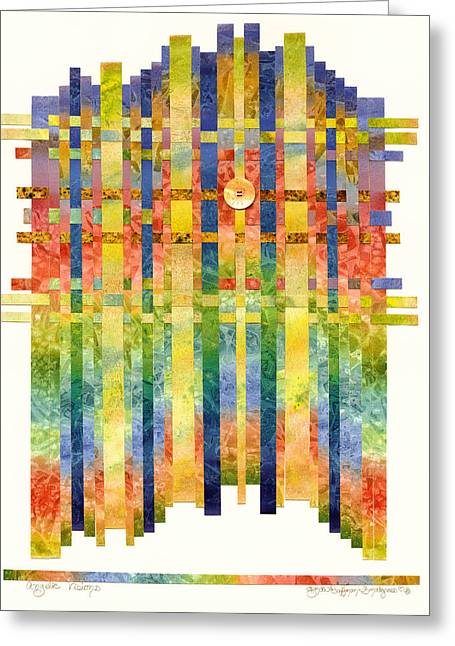 Angelic Visions Greeting Card