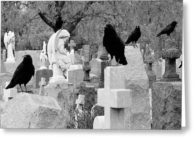 Angels Among Us Greeting Card by Gothicrow Images
