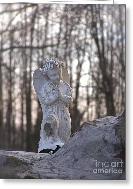 Angels Are Everywhere Greeting Card