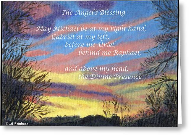 Angel's Blessing Greeting Card