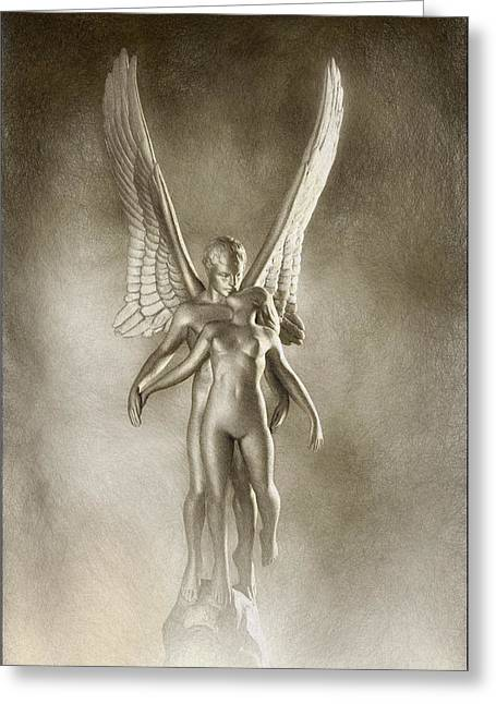 Angel's Kiss Greeting Card