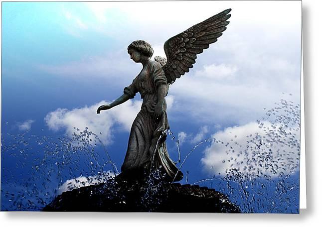 Angel's Love Greeting Card