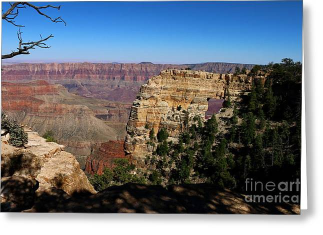 Angel's Window Grand Canyon North Rim  Greeting Card by Christiane Schulze Art And Photography