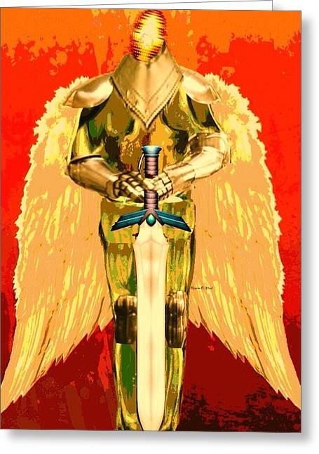 Angelwarrior Greeting Card