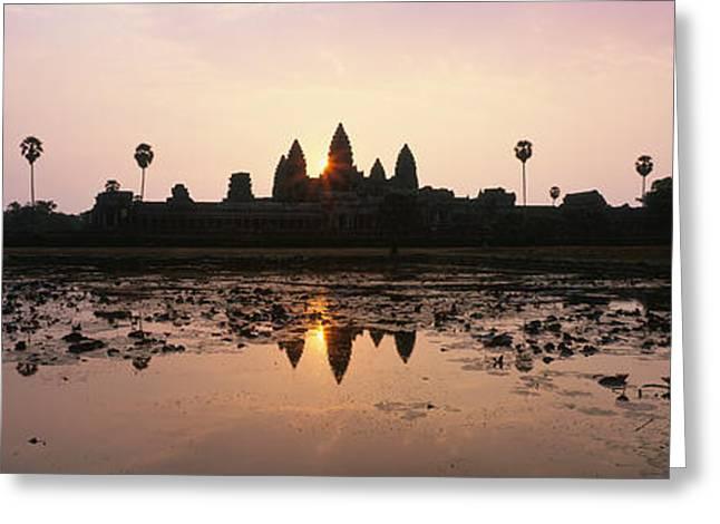 Angkor Vat Cambodia Greeting Card