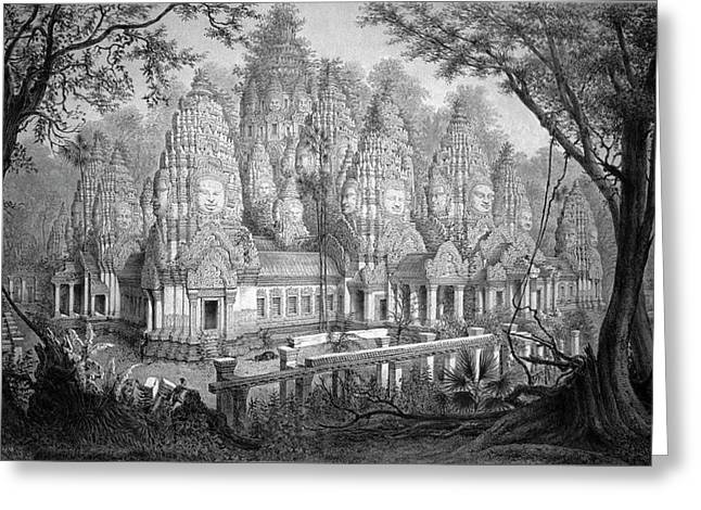 Angkor Wat Greeting Card by Cci Archives