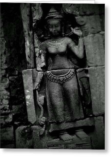 Angkor Wat Figurine Greeting Card