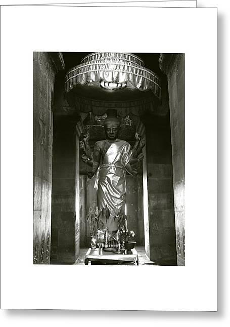 Angkor Wat II Greeting Card by Don Saunderson
