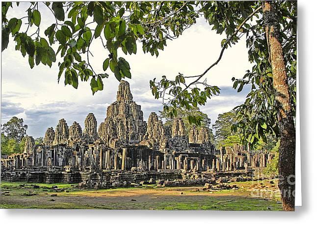 Angkor Wat No. 1 Greeting Card by Harold Bonacquist