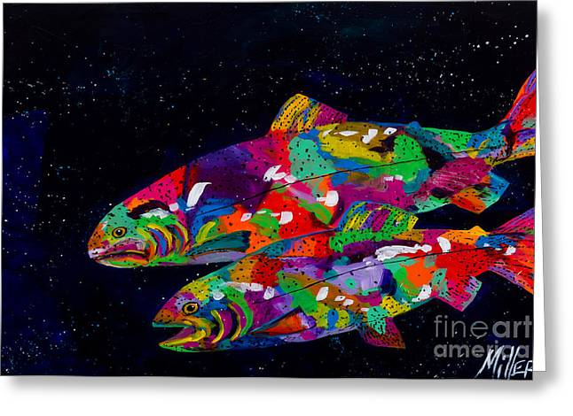 Anglers Dream Greeting Card by Tracy Miller