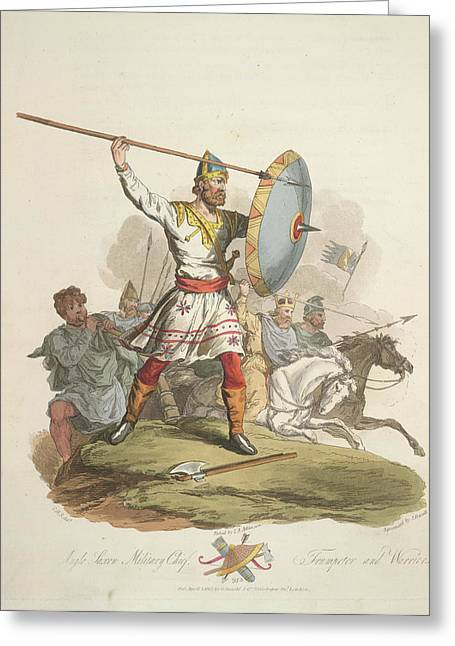 Anglo-saxon Chief Greeting Card