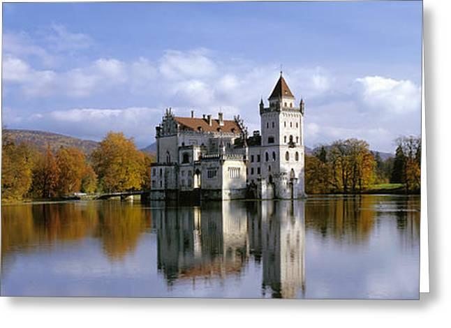 Anif Castle Austria Greeting Card