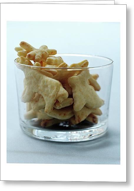 Animal Crackers Greeting Card