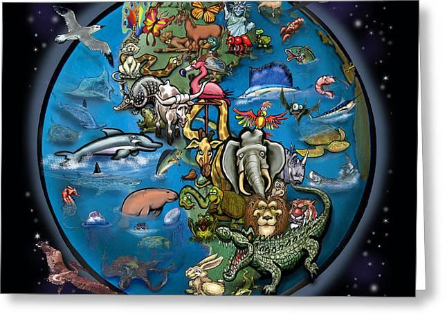 Animal Planet Greeting Card
