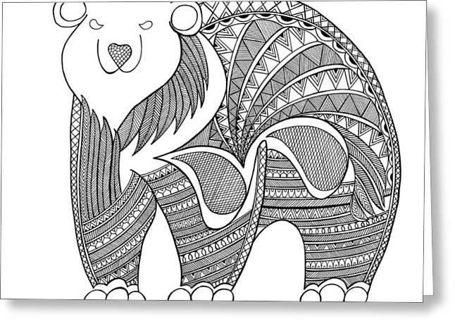Animal Polar Bear Greeting Card