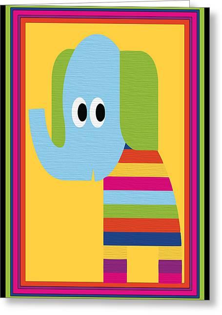 Animal Series 8 Greeting Card by Angelina Vick