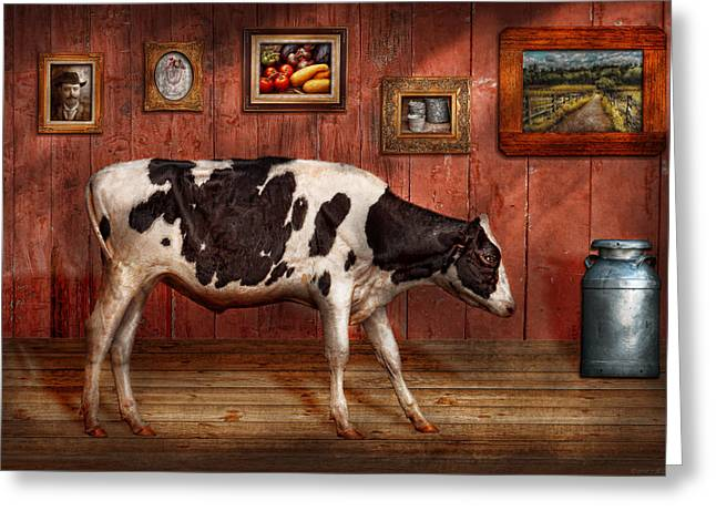 Animal - The Cow Greeting Card