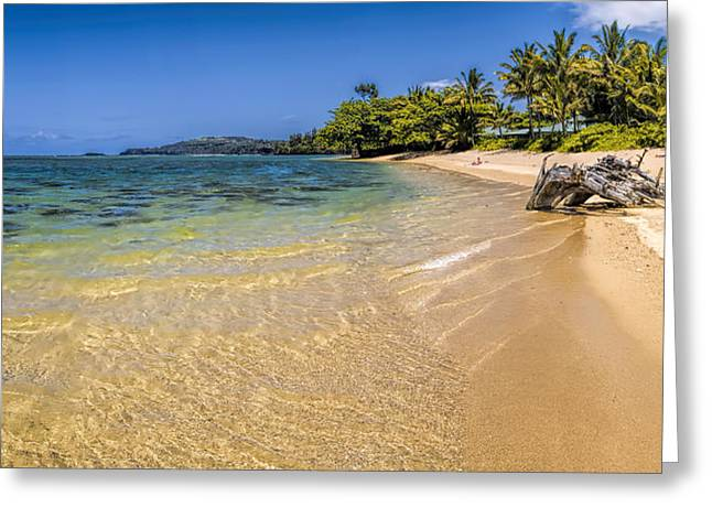 Anini Beach 1 Greeting Card