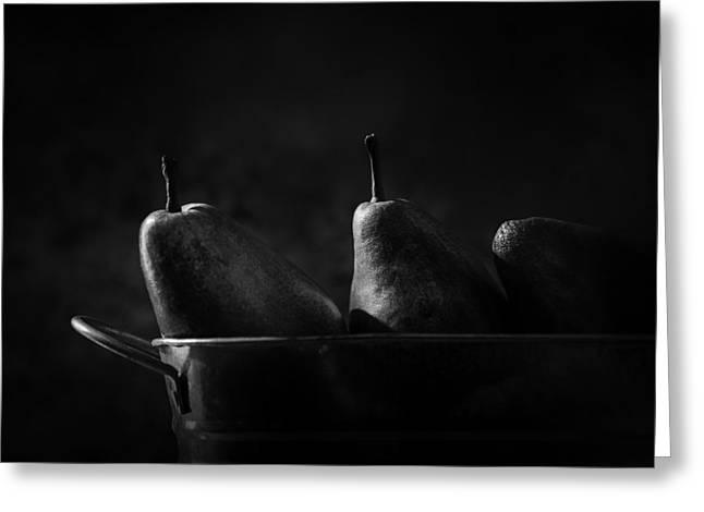 Anjou Pears Greeting Card by Jesse Castellano