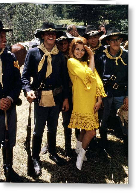 Ann-margret In Stagecoach  Greeting Card