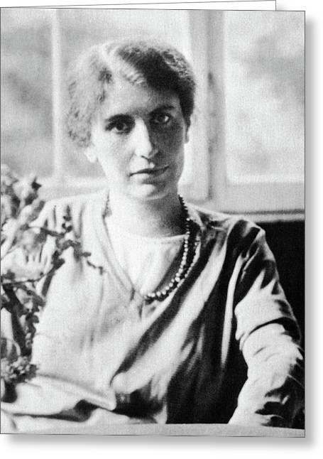 Anna Freud (1895-1982) Greeting Card