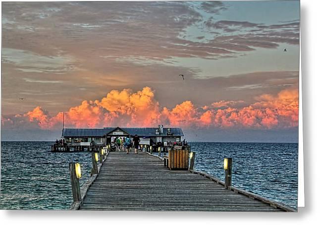 Anna Maria City Pier Greeting Card