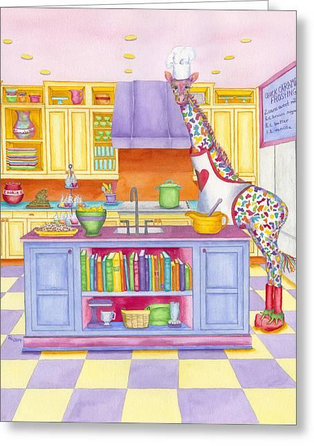 Annabelle On Sugar Greeting Card
