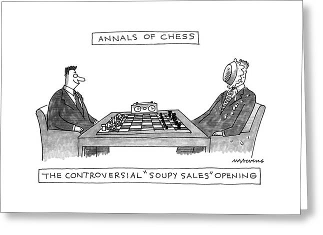 Annals Of Chess Greeting Card