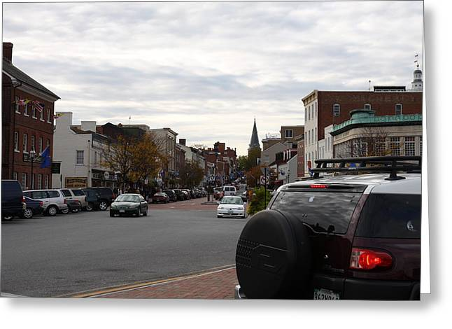 Annapolis Md - 12123 Greeting Card