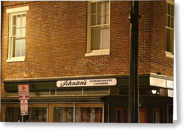 Annapolis Md - 121275 Greeting Card by DC Photographer