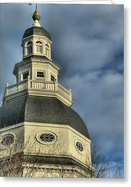Annapolis Statehouse Greeting Card