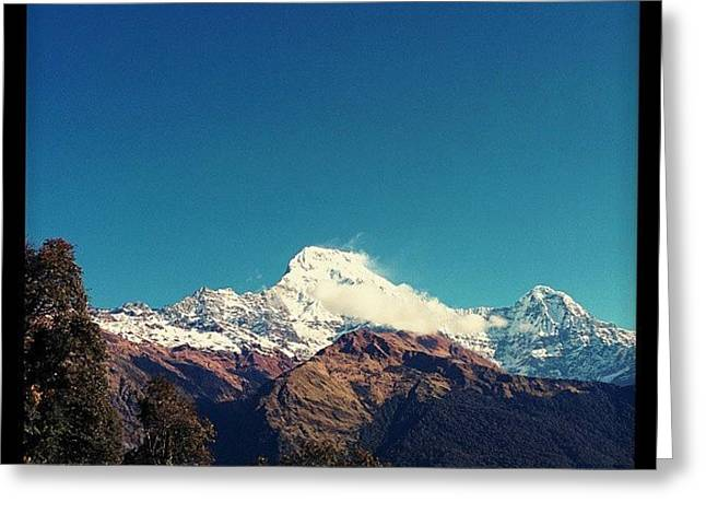 #annapurna Greeting Card