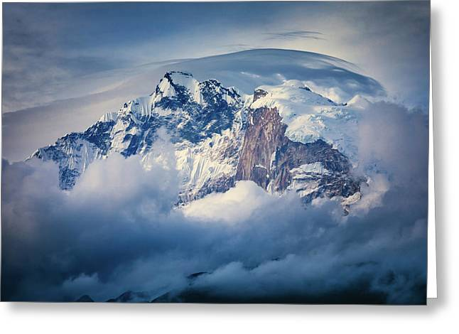 Annapurna Range Greeting Card
