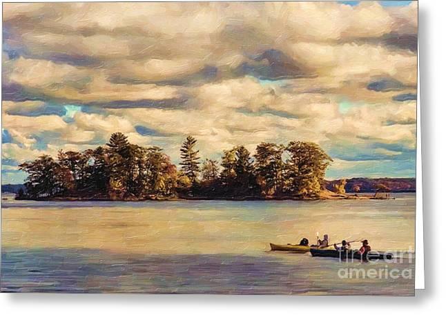 Anne Lacys Hamlin Lake Greeting Card