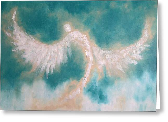 Anne's Angel Greeting Card