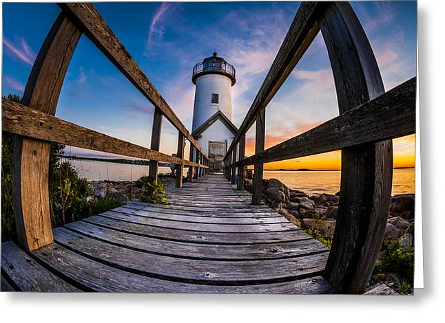Annisquam Greeting Card by Chris Halford