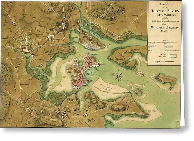 Anniv Of Paul Revere S Ride Boston In 1776 Greeting Card