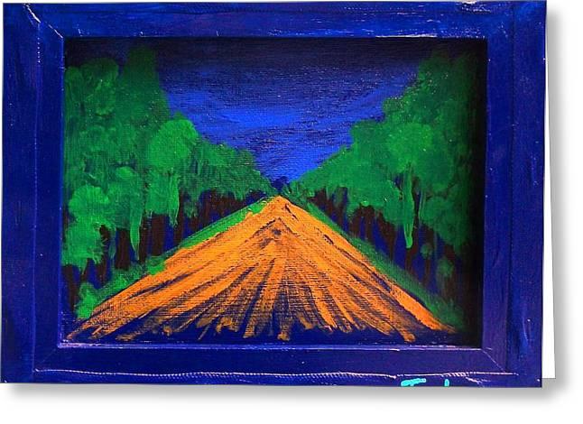 Anoher Yellow Brick Road Greeting Card by Jim  Furlong