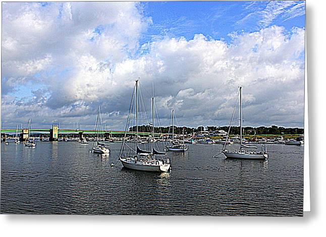 Another Beautiful Day In Newburyport Greeting Card