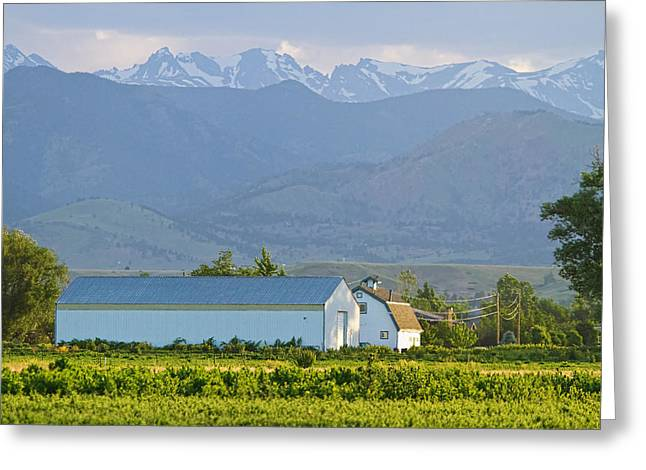 Another Colorado Country Landscape Greeting Card by James BO  Insogna