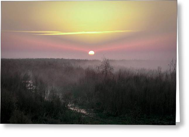 Another Dawn Over The Prairie Greeting Card