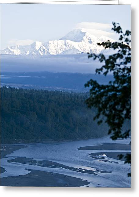 Another Denali View  Greeting Card