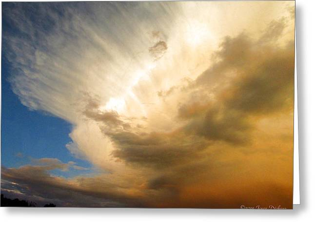 Another Incredible Cloud Greeting Card by Joyce Dickens