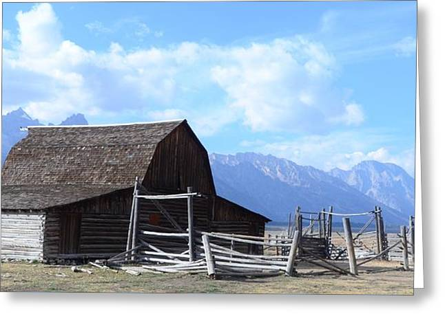 Another Old Barn Greeting Card by Kathleen Struckle